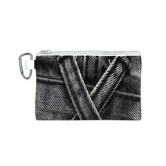 Backdrop Belt Black Casual Closeup Canvas Cosmetic Bag (S)