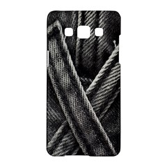 Backdrop Belt Black Casual Closeup Samsung Galaxy A5 Hardshell Case