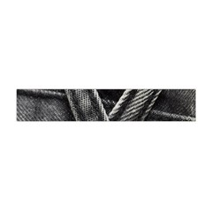 Backdrop Belt Black Casual Closeup Flano Scarf (Mini)