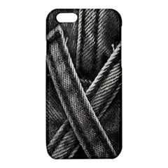 Backdrop Belt Black Casual Closeup iPhone 6/6S TPU Case