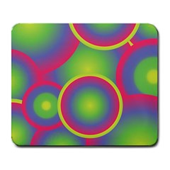Background Colourful Circles Large Mousepads