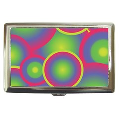 Background Colourful Circles Cigarette Money Cases