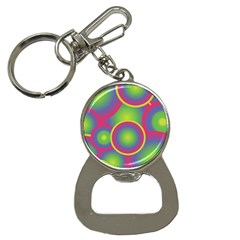 Background Colourful Circles Button Necklaces