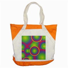 Background Colourful Circles Accent Tote Bag