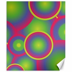 Background Colourful Circles Canvas 20  x 24