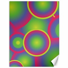 Background Colourful Circles Canvas 36  x 48