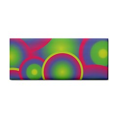 Background Colourful Circles Cosmetic Storage Cases