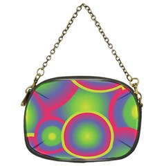 Background Colourful Circles Chain Purses (One Side)