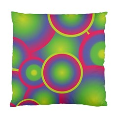 Background Colourful Circles Standard Cushion Case (Two Sides)
