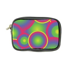 Background Colourful Circles Coin Purse