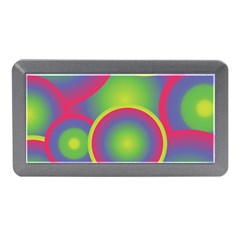 Background Colourful Circles Memory Card Reader (Mini)