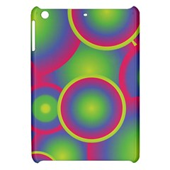 Background Colourful Circles Apple Ipad Mini Hardshell Case