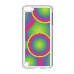 Background Colourful Circles Apple iPod Touch 5 Case (White)