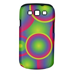 Background Colourful Circles Samsung Galaxy S III Classic Hardshell Case (PC+Silicone)