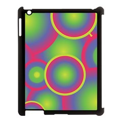 Background Colourful Circles Apple iPad 3/4 Case (Black)
