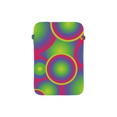 Background Colourful Circles Apple iPad Mini Protective Soft Cases