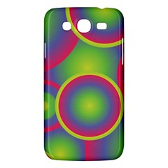 Background Colourful Circles Samsung Galaxy Mega 5.8 I9152 Hardshell Case