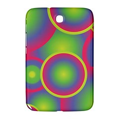 Background Colourful Circles Samsung Galaxy Note 8 0 N5100 Hardshell Case