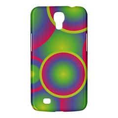 Background Colourful Circles Samsung Galaxy Mega 6.3  I9200 Hardshell Case