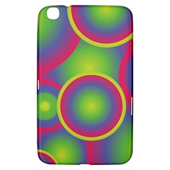 Background Colourful Circles Samsung Galaxy Tab 3 (8 ) T3100 Hardshell Case