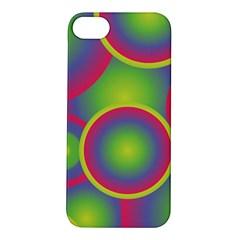 Background Colourful Circles Apple iPhone 5S/ SE Hardshell Case