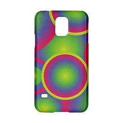 Background Colourful Circles Samsung Galaxy S5 Hardshell Case