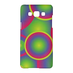 Background Colourful Circles Samsung Galaxy A5 Hardshell Case