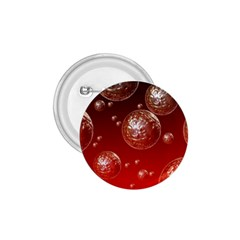Background Red Blow Balls Deco 1.75  Buttons