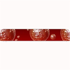 Background Red Blow Balls Deco Small Bar Mats
