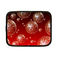 Background Red Blow Balls Deco Netbook Case (Small)