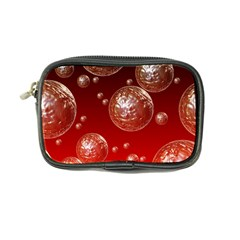Background Red Blow Balls Deco Coin Purse