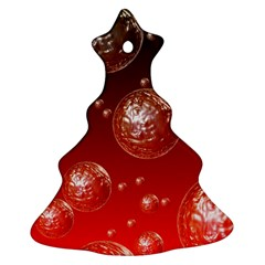 Background Red Blow Balls Deco Ornament (Christmas Tree)