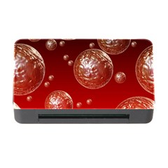 Background Red Blow Balls Deco Memory Card Reader with CF