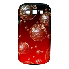 Background Red Blow Balls Deco Samsung Galaxy S III Classic Hardshell Case (PC+Silicone)