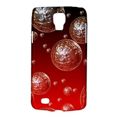 Background Red Blow Balls Deco Galaxy S4 Active