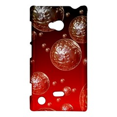 Background Red Blow Balls Deco Nokia Lumia 720