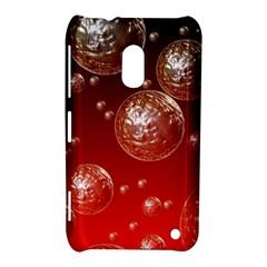Background Red Blow Balls Deco Nokia Lumia 620