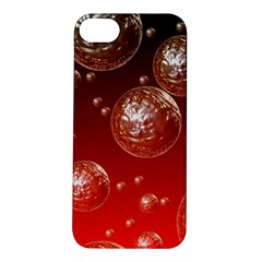 Background Red Blow Balls Deco Apple iPhone 5S/ SE Hardshell Case