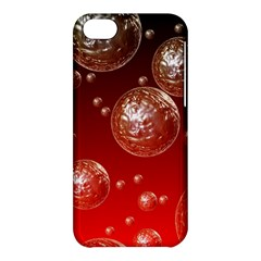 Background Red Blow Balls Deco Apple iPhone 5C Hardshell Case
