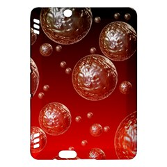 Background Red Blow Balls Deco Kindle Fire HDX Hardshell Case