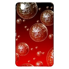 Background Red Blow Balls Deco Samsung Galaxy Tab Pro 8.4 Hardshell Case