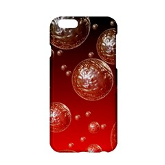 Background Red Blow Balls Deco Apple Iphone 6/6s Hardshell Case
