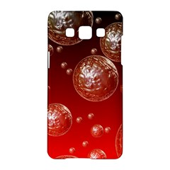 Background Red Blow Balls Deco Samsung Galaxy A5 Hardshell Case
