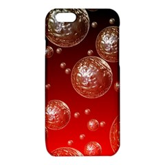 Background Red Blow Balls Deco iPhone 6/6S TPU Case