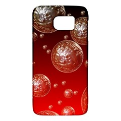 Background Red Blow Balls Deco Galaxy S6