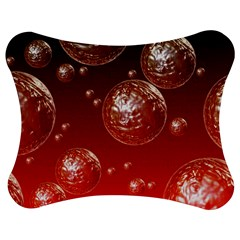 Background Red Blow Balls Deco Jigsaw Puzzle Photo Stand (bow)