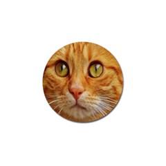 Cat Red Cute Mackerel Tiger Sweet Golf Ball Marker (4 pack)