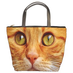 Cat Red Cute Mackerel Tiger Sweet Bucket Bags