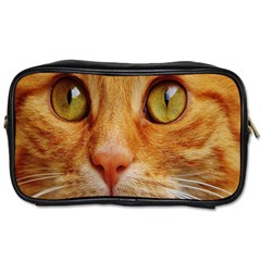 Cat Red Cute Mackerel Tiger Sweet Toiletries Bags 2-Side