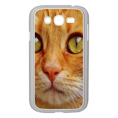 Cat Red Cute Mackerel Tiger Sweet Samsung Galaxy Grand DUOS I9082 Case (White)